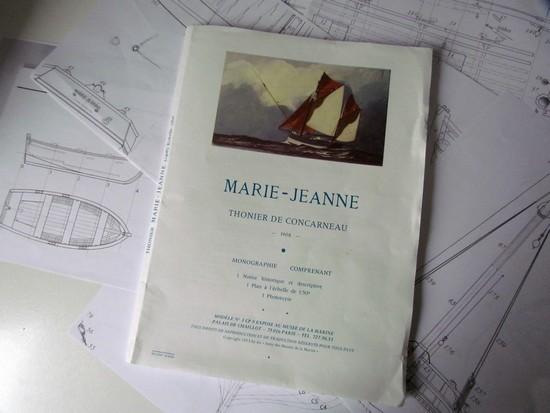 Modélisme naval - Thonnier de Concarneau - Marie Jeanne