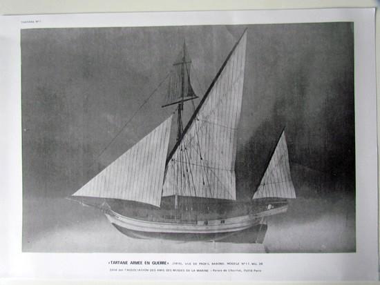 Modélisme naval - ETOILE Goélette - annexe de l'école navale